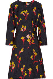 Jason Wu Floral-jacquard mini dress
