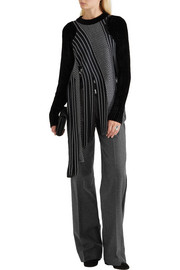 Jason Wu Wool and cashmere-blend wide-leg pants