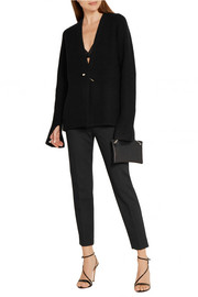 Jason Wu Embellished ribbed-knit cardigan