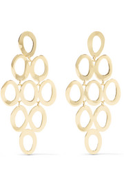Ippolita Glamazon® Cascade 18-karat gold earrings