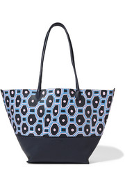Sophie Anderson Brenna painted textured-leather tote