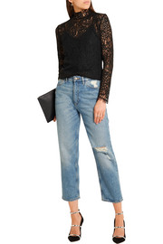 By Malene Birger Solar guipure lace top