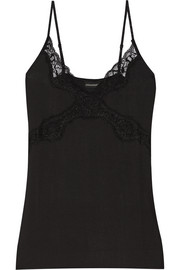 By Malene Birger Newasikio lace-trimmed stretch-modal camisole