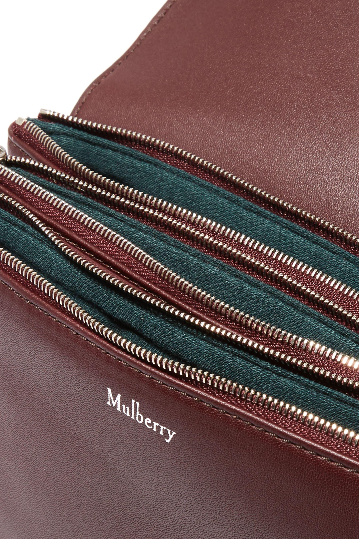 Mulberry Clifton Schultertasche aus strukturiertem Leder
