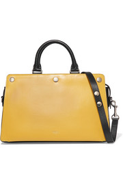 Mulberry Chester two-tone leather tote