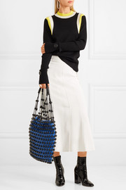 Mulberry Beaded leather shoulder bag