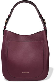 London textured-leather shoulder bag