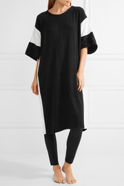DKNY Color-block terry kaftan