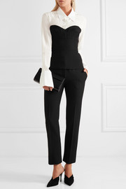 Victoria Beckham Washed-silk shirt