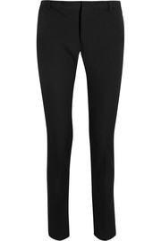 Saint Laurent Grain de poudre wool tapered pants