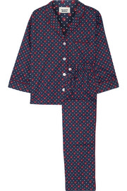 Marina printed cotton pajama set