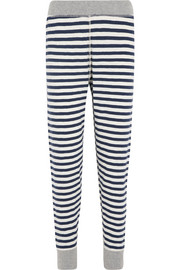 Helen striped cotton-jersey leggings