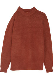 Tibi Cutout oversized knitted sweater
