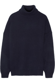 Tibi Oversized cashmere turtleneck sweater