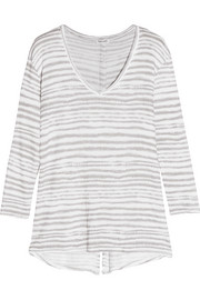 Splendid O'Keeffe striped knitted sweater