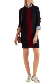 Chinti and Parker Striped cashmere dress