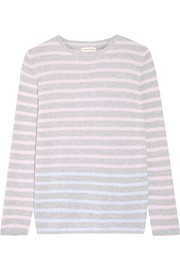 Chinti and Parker Striped cashmere sweater