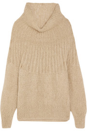 Lampion metallic mohair-blend sweater