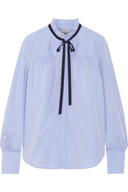 Cotton-poplin blouse