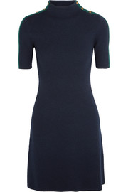Sardy ribbed merino wool mini dress