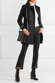 Tory Burch Optique wool-blend gabardine coat