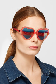 Cutler and Gross Love Bite acetate sunglasses