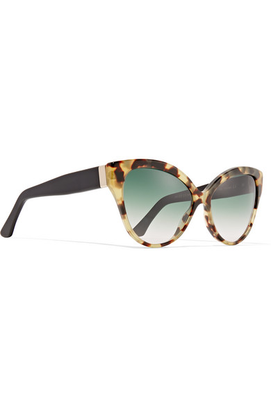 Tequila Sunglasses  cutler and gross tequila sunrise cat eye acetate sunglasses