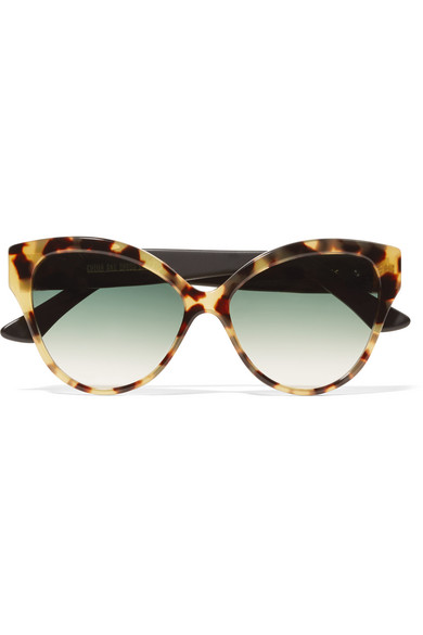 Cutler and Gross - Tequila Sunrise Cat-eye Acetate Sunglasses - Tortoiseshell