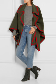 Burberry Wool and cashmere-blend cape