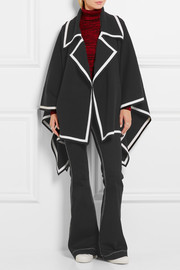 Burberry Prorsum Wool-blend cape