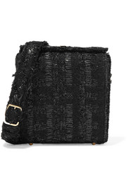 Simone Rocha Tweed shoulder bag