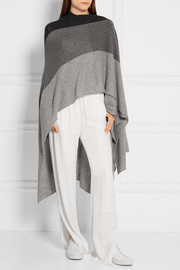 Ingelby color-block cashmere wrap