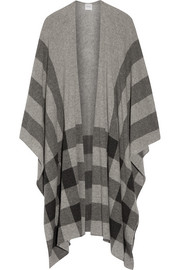 Shipton checked cashmere wrap