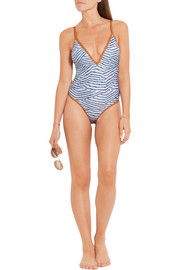 Vix Dune printed swimsuit