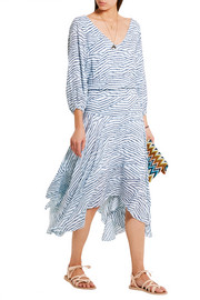 Chiara printed jersey dress