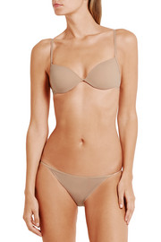 Bodas Sheer Tactel stretch-jersey padded bra