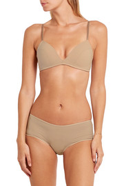 Bodas Sheer Tactel set of two stretch-jersey briefs