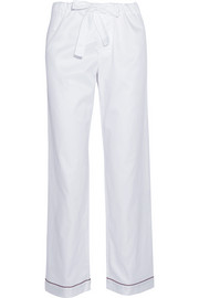 Bodas Cotton-sateen pajama pants