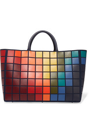 Anya Hindmarch Ebury Maxi Pixels leather tote