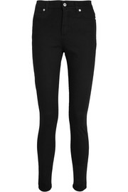 McQ Alexander McQueen Harvey zip-detailed skinny jeans