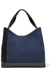 Marni Pod suede and leather tote