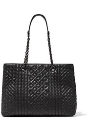 Shopping intrecciato leather tote