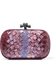 Bottega Veneta The Knot intrecciato ayers clutch