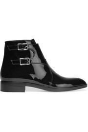 Gianvito Rossi Patent-leather ankle boots