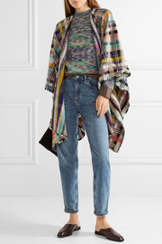 Missoni Checked wool-blend wrap