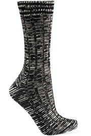 Missoni Mélange wool-blend socks