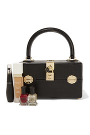 Dolce & Gabbana Lizard-effect leather vanity case