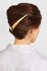 Trek Halo gold-plated hair slide