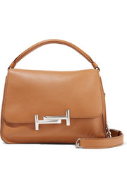 Tod's Double T leather shoulder bag