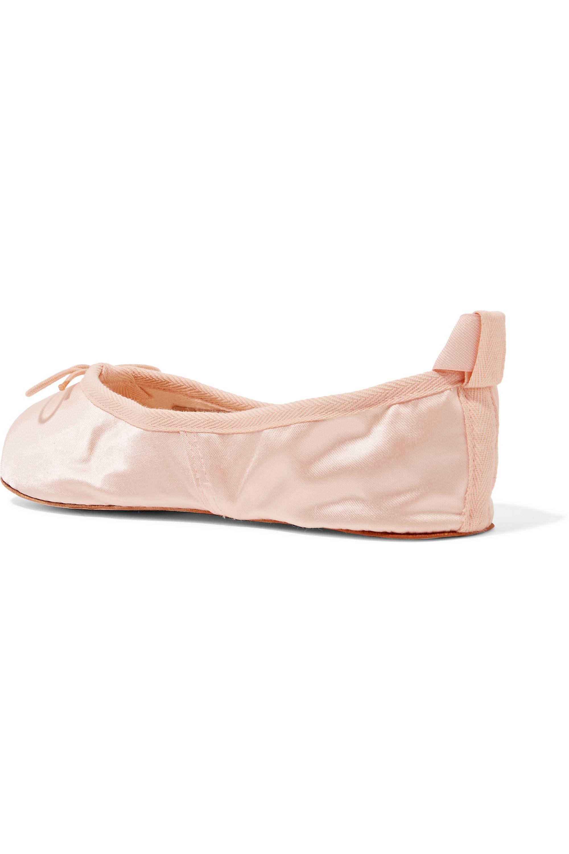Ballet Beautiful Satin ballet flats